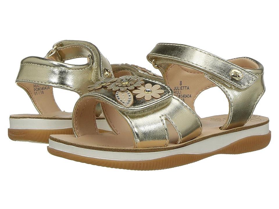 Naturino Express Julietta (Toddler/Little Kid) (Gold) Girls Shoes