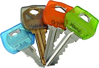Nite Ize IdentiKey Covers, Write-On Universal Key Covers for Quick Key Identification, Multiple Colors
