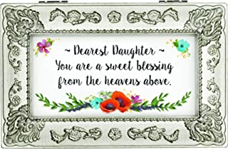Carson Home Accents Dearest Daughter Music Box Plays My Favorite Things