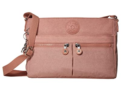 Kipling New Angie Crossbody Bag (Galaxy Twist Pink) Handbags