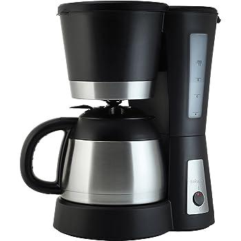 Solac 238588 CF4025 Stillo Termo-Cafetera goteo con jarra térmica (capacidad de 1 L), color, 800 W, 1 Liter, Negro, Acero inoxidable: Amazon.es: Hogar