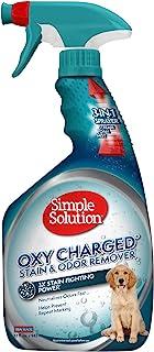 راه حل ساده Oxy Charged Pet Stain و بو بویایی   لکه های حیوان خانگی و بو را با قدرت تمیز کردن 3 برابر از بین می برد