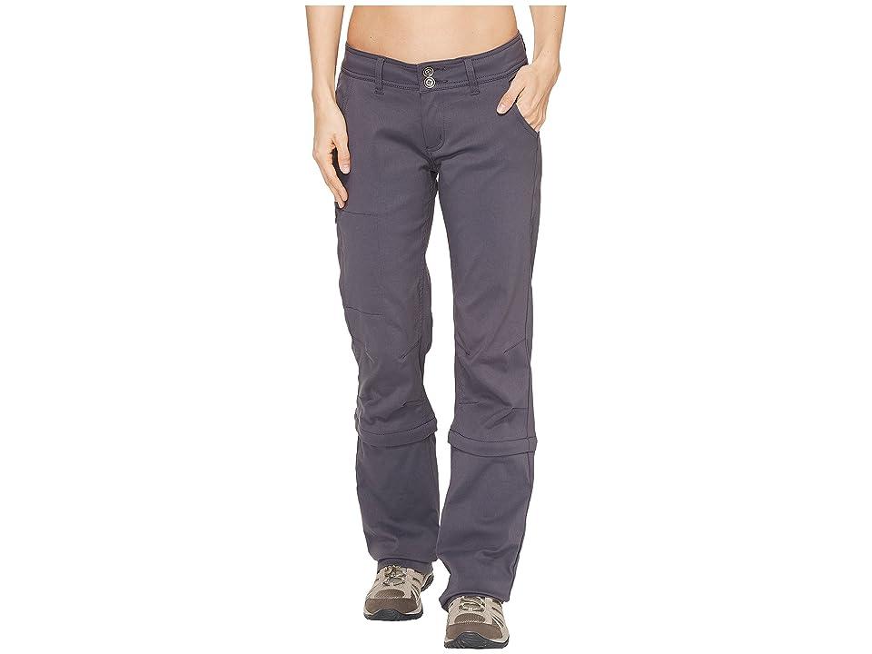 Prana Halle Convertible Pants (Coal) Women