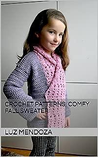 Crochet Patterns, Comfy Fall Sweater