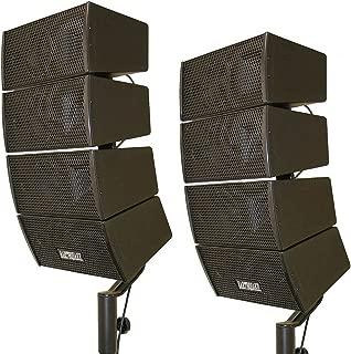 Earthquake Sound DJ-Quake 4x 4-inch Array Speakers, Set of 2