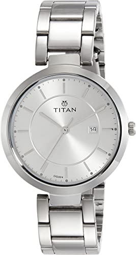 Titan Ladies NeoIi Analog Silver Dial Women's Watch NM2480SM07 / NL2480SM07