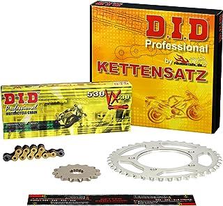 Kettensatz Kawasaki ZR 1100 Zephyr, 1992 1997, ZRT10A, ZRT10B, DID X Ring (VX gold) verstärkt