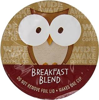 Wide Awake Coffee Breakfast Blend Single Serve Cup, 12 Count