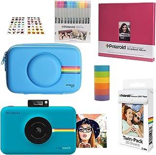 Polaroid Snap Touch Cámara Digital Instantánea (Azul) Kit Álbum de Recortes con Estuche Eva