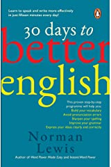 30 Days to Better English Paperback