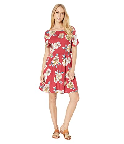 Roxy Hello Cilento Dress (Deep Claret Sept) Women