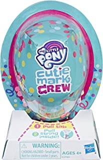 My Little Pony Toy Cutie Mark Crew Series 4 Blind Bag: Beach Day Collectible Mystery Figure, Kids Ages 4 and Up, Brown