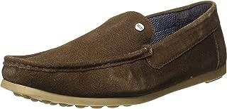 Carlton London Men's Clm-1539 Leather Sneakers