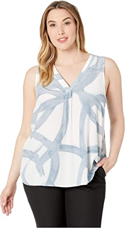 Plus Size Round About Tank