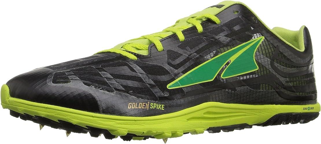 Altra Men's oren Spike Running chaussures, Lime noir, 7 M US