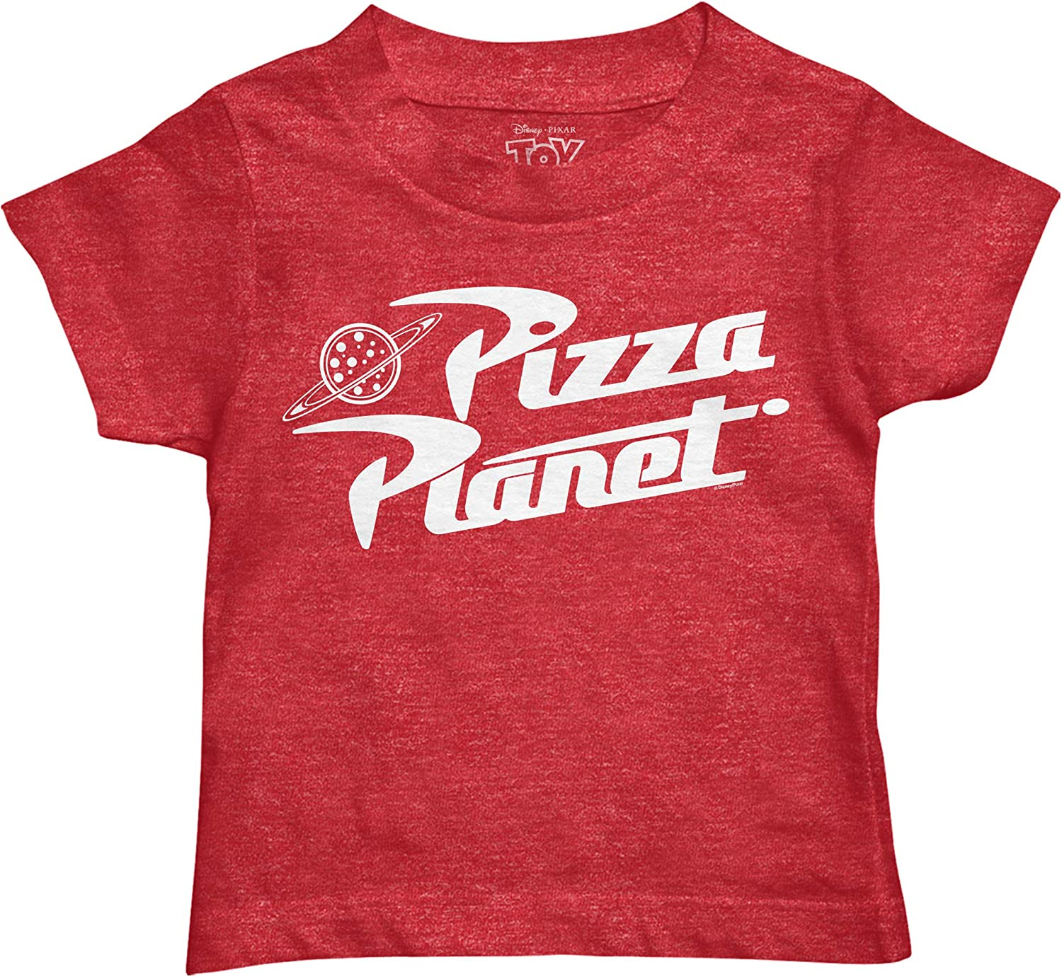 Disney Pixar Toy Story Pizza Planet Boys Toddler Juvy Humor Funny Tee T-Shirt