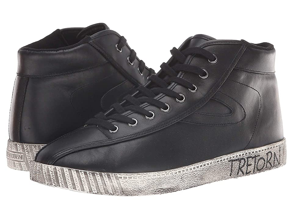 Tretorn Nylite Hi 22 (Black) Men