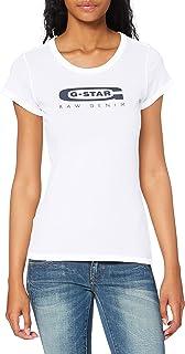 G-STAR RAW Graphic Logo 20 Slim T-Shirt Femme