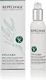 Repechage Vita Cura Triple Action Cleansing Cream, 6 Fluid Ounce