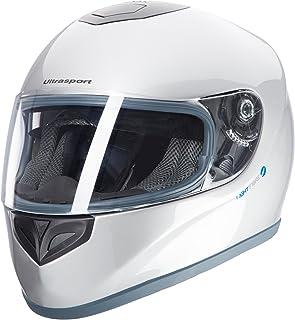 comprar comparacion Ultrasport Moto Casco de Fibra de Vidrio FH-3, Plateado, L
