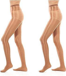 be0ed1477 ElsaYX 70D Women s Shiny Glossy Sheer-to-Waist Tights