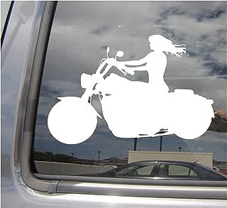 old lady biker