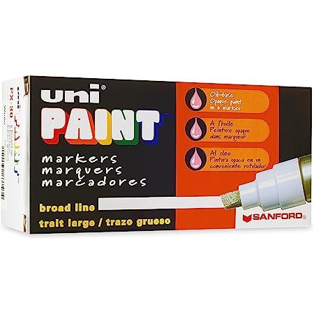 Sanford San63743 Uni-paint Marker Broad Tip White for sale online