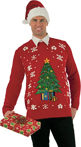 edición limitada Forum Novelties Adulto All Wrapped Up Ugly Christmas Sweater Sweater Sweater Classic Ugly Large  ventas en linea