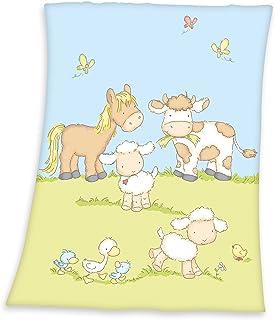 Herding 144056014 - Manta para Cama, 75 cm x 100 cm, Color Multicolor