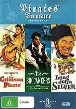 The Crimson Pirate / Buccaneers Volume 1 / Long John Silver | 3 Discs | NON-USA Format | PAL | Region 4 Import - Australia