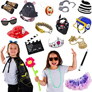 Photo Booth Props - Photo Booths for Parties - 15 Pc Assorted Photo Booth Kit by Funny Party Hats