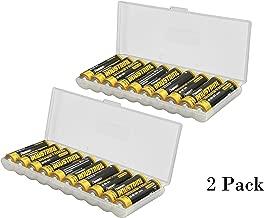 Whizzotech AA Battery Storage Case Battery Holder Organizer Box (AA Battery Case (BL13))