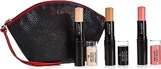 Revlon Photoready Insta-Fix Make Up Shell, Highlighting Stick Gold Light, Insta-Blush Candy Kiss Pack - 0.149 gm