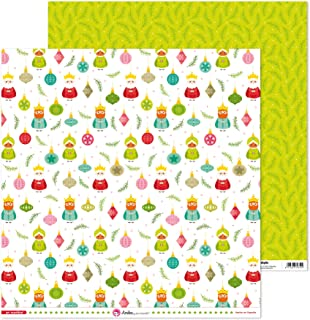 Anita y Su Mundo Collection de Noël Papiers de scrapbooking, papier, rois mages, 30,5 x 30,5 cm