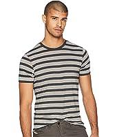 Crew Neck T-Shirt w/ Ausbrenner Wash