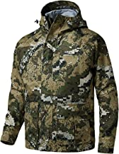 Bassdash Walker Breathable Waterproof Fishing Hunting Wading Jackets with Silent Outer Fabric for Men Women in 7 Sizes