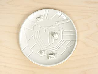 Targa Della Città - Amsterdam - porcellana Olanda Paesi Bassi piatti in ceramica mappe art