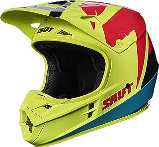 2017 Shift White Label Tarmac Helmet-Flo Yellow-XL