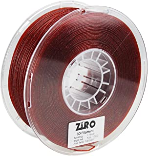 ZIRO 3D Printer Filament PLA 1.75mm Twinkling Color Series 1KG(2.2lbs), Dimensional Accuracy +/- 0.05mm, Bright red