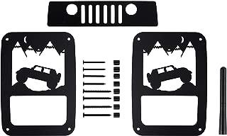 BMS Jeep Wrangler JK/JKU Tail Light Guard (Hill3S)