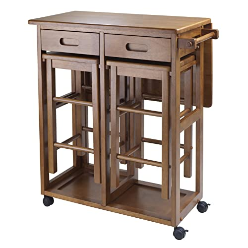 Kitchen Islands with Storage and Seating: Amazon.com
