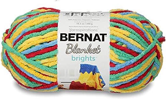 161213-13009 Bernat Blanket Brights Yarn-Surf Variegated