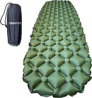 Trek Motion Ultralight 400g (14.1 oz) Inflatable Sleeping Pad - Mat - Air Mattress For Hiking, Camping, Trekking, Backpack...