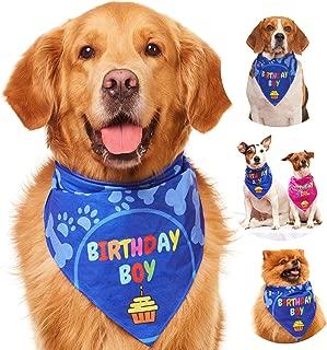 Best birthday dog bandana Reviews