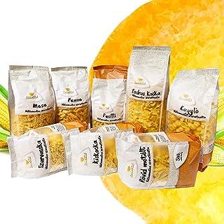 LoveDiet Maisnudeln   Glutenfrei   Vegan   100% Mais Pasta   Glutenfreie nudeln aus Maismehl   Gluten Free   Ohne Zusätze   Alternative für Nudeln aus Maismehl   8erPack8x500g