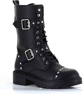 spiked sole boots