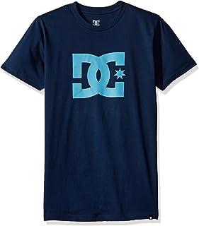 f04c6e897b DC Shoes Star Short - Camiseta para Hombre, Color Oscuro Chocolate/Amarillo