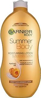 Garnier Summer Body Gradual Tan Moisturiser Deep 400 ml, For A Radiant, Sun Kissed Glow, Suitable For Face & Body, 24 Hour...