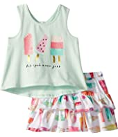 Kate Spade New York Kids - Summer Treats Skirt Set (Infant)