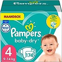 Pampers Baby Dry Byxblöjor, Vit, 4